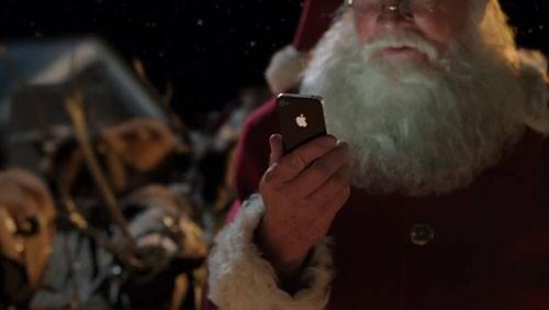 Babbo Natale usa Siri
