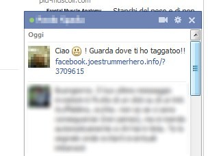 Truffa su Facebook