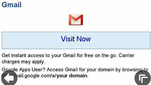 Gmail su Symbian