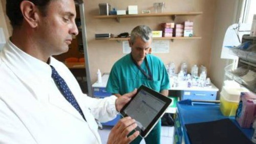 iPad in ospedale