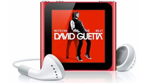 Apple iPod nano, red product