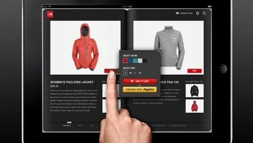 Shopping su iPad