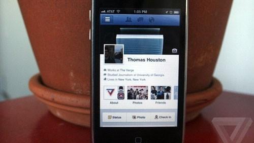TimeLine su Facebook
