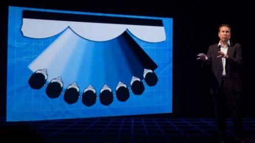 CES 2012 TV Toshiba