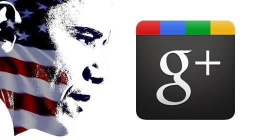 Obama Google+