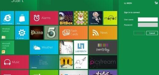 Windows 8 impostazione reti