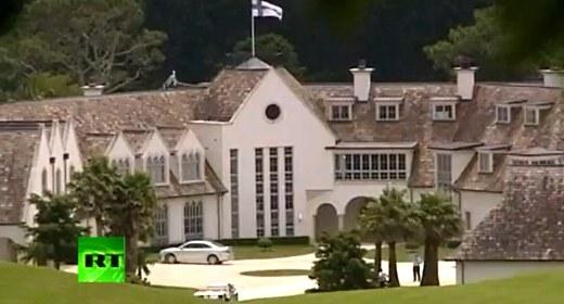 L'abitazione di Kim Dotcom