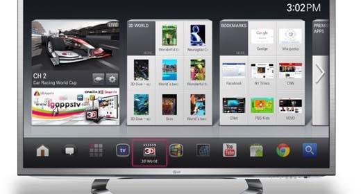 Google TV di LG