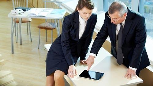 iPad e business