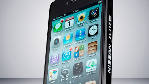 iPhone custodia Nissan