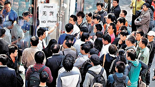 iPhone 4S, disordini in Cina