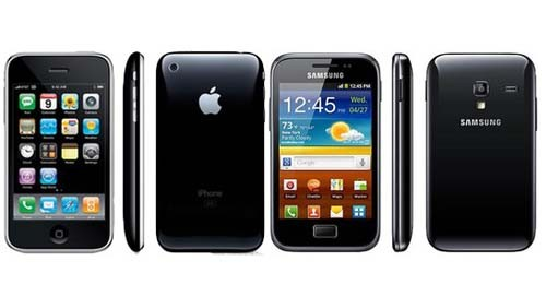 iPhone 3G VS Samsung Galaxy Ace