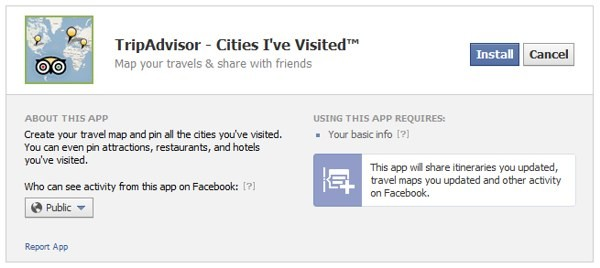 TripAdvisor su Facebook