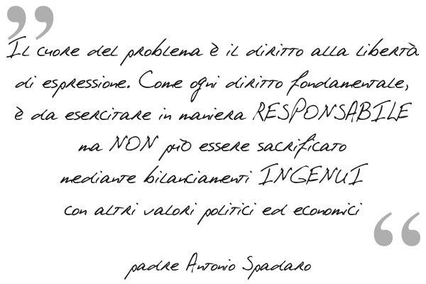 Ipse Dixit: padre Antonio Spadaro