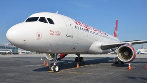 Virgin America, aereo Steve Jons
