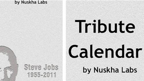 Steve Jobs, Trubute Calendar