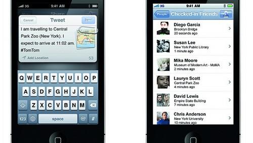 Nuova applicazione TomTom per iOS