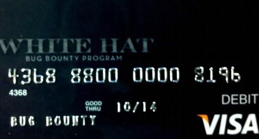 White Hat Card