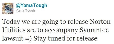 Yama Tough annuncia la pubblicazione del codice Symantec