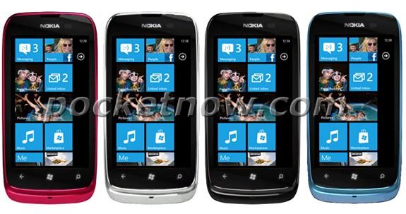 Anteprima Nokia Lumia 610