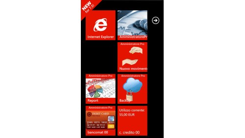 AmministratorePro Windows Phone