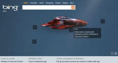 Bing Windows 8
