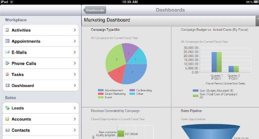 Dynamics CRM per iOS