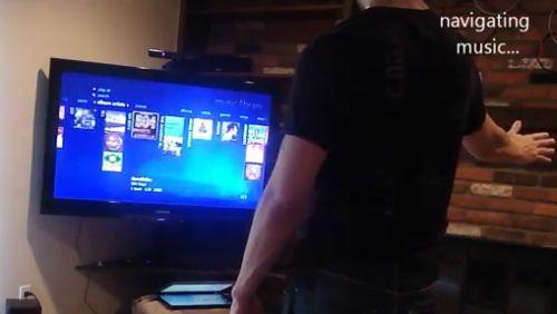 Kinect per Media Center