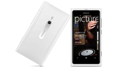 Nokia Lumia 800 bianco