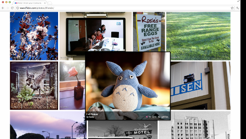 Anteprima del nuovo Flickr
