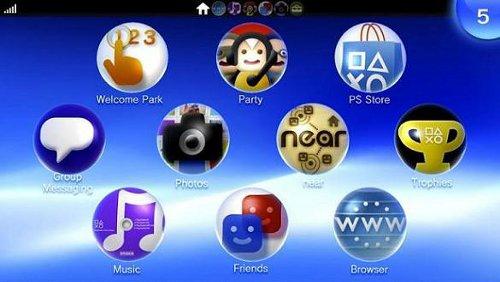 Sony PS Vita OS