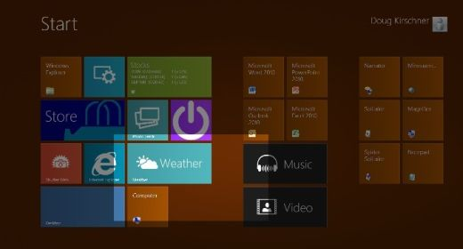 Windows 8 Magnifier
