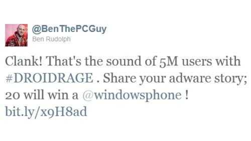 Windows Phone DroidRage
