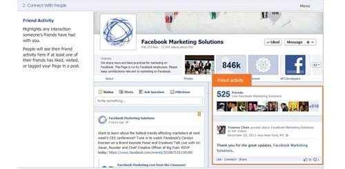guida interattiva facebook