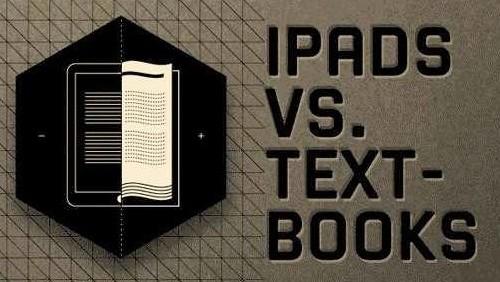 iPad contro i libri di testo