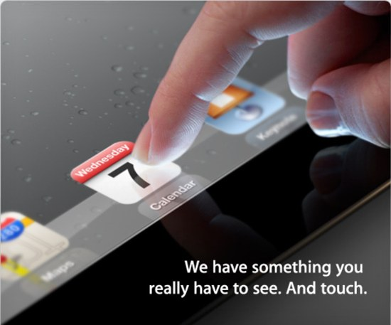 iPad 3, l'annuncio il 7 marzo