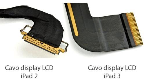 Cavo display LCD iPad 2 e iPad 3