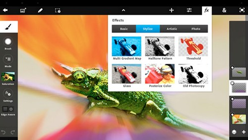 Adobe Photoshop Touch per iPad