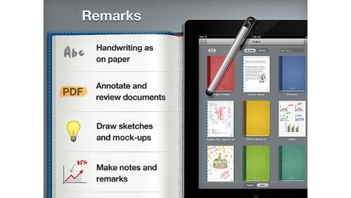 Remarks per iPad
