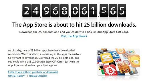 25 miliardi App Store