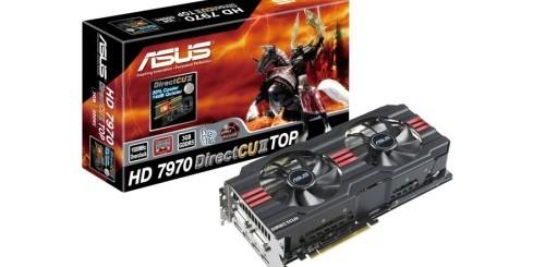 ASUS HD 7970 DirectCU II TOP