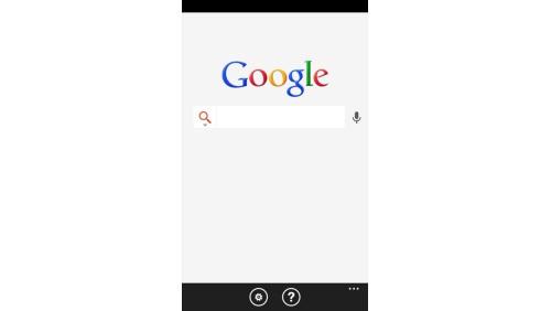 Google Search Windows Phone