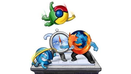 IE vs. Chrome