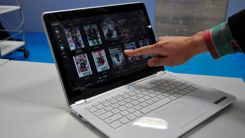 Intel ultrabook touchscreen