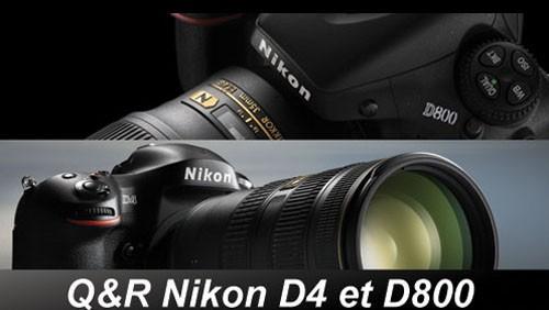 Nikon D800 e Nikon D4