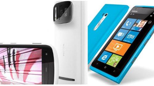 Nokia PureView 808 vs Nokia Lumia 900