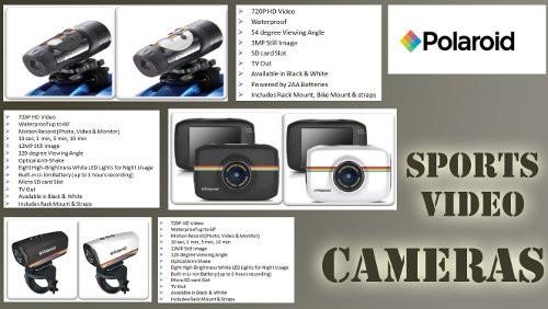 Polaroid videocamere sportive