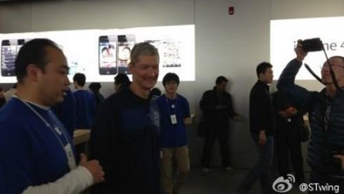 Tim Cook in Cina