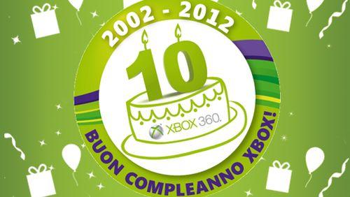 Xbox 10 anni