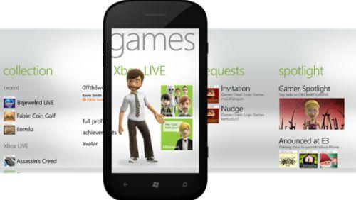 Xbox Live Windows Phone